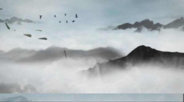 淘宝热销中国风水墨视频素材水墨ae模板动态设计素材